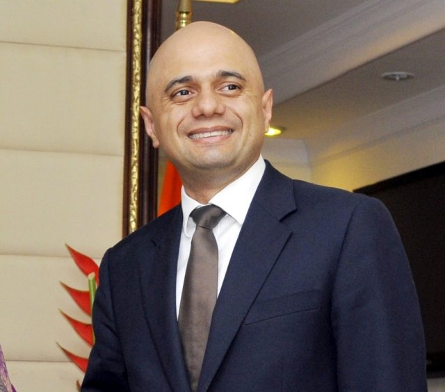 Sajid Javid. (File Photo: IANS) by .