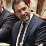 PARIS, Oct. 16, 2018 (Xinhua) -- Photo taken on Oct. 16, 2018 shows the newly appointed Interior Minister Christophe Castaner in Paris, France. French President Emmanuel Macron on Tuesday named Christophe Castaner, one of his main backers, to supervise interior affairs and replace Gerard Collomb, in his latest cabinet reshuffle. (Xinhua/Jack Chan/IANS) by .