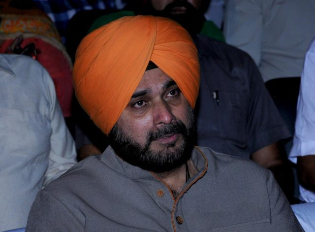 Amritsar: Punjab's Local Government Minister Navjot Singh Sidhu during a programme organised on the occasion of Valmiki Jayanti, in Amritsar on Oct 24, 2018. (Photo: IANS) by .