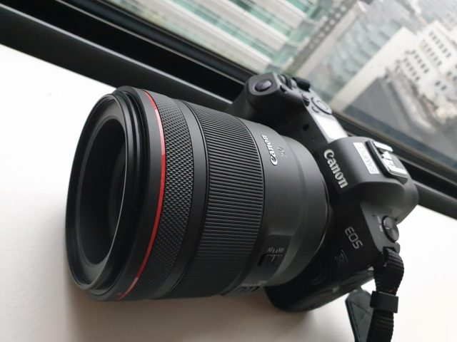 The Canon EOS R. (Photo: IANS) by .