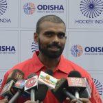 Bhubaneswar: Indian Hockey player Sreejesh Parattu Raveendran talks to press in Bhubaneswar on Sept 19, 2018. (Photo: IANS) by .