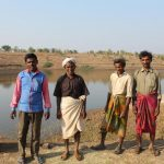 The pond in Dudhikheda village now serve villagers from three villages. by .