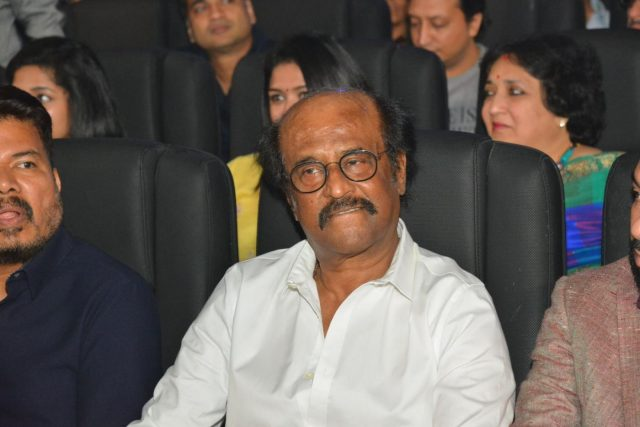 Chennai: Actor Rajinikanth at the trailer launch of his upcoming film