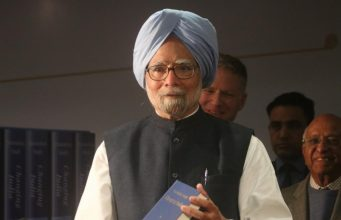 """New Delhi: Former Prime Minister Dr. Manmohan Singh at the launch of his book """"Changing India"""" in New Delhi on Dec 18, 2018. (Photo: IANS) by ."""