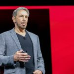Oracle Co-Founder and Executive Chairman Larry Ellison unveils Oracle's Gen 2 Cloud with autonomous capabilities, improved security and upgrades for enterprises. (Photo: Twitter/@Oracle) by .