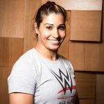 Former competitive powerlifter and South Asian Games gold medal winner Kavita Devi, who has been selected to compete in the Mae Young Classic, which is the first ever WWE tournament for women. (File Photo: IANS) by .