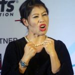 Mumbai: Boxer M.C. Mary Kom at the launch of 'Stars of Tomorrow' (SOT) - an athlete support programme introduced by Indian Federation of Sports Gaming (IFSG) in Mumbai, on Dec 5, 2018. (Photo: IANS) by .