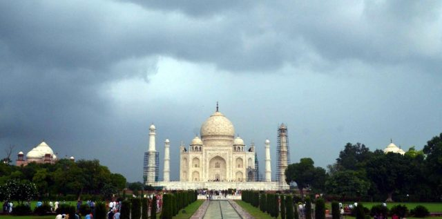Taj Mahal. (File Photo: IANS) by .