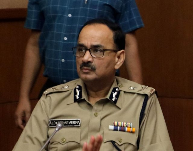 Delhi Police commissioner Alok Verma. (File Photo: IANS) by .