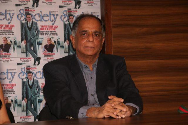 Mumbai: Director Pahlaj Nihalani during a programme to promote his upcoming film