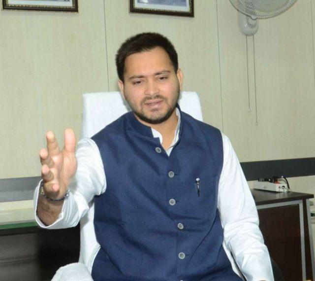 Bihar Deputy Chief Minister Tejashwi Yadav. (File Photo: IANS) by .