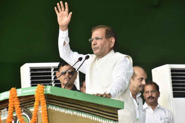 Former JD-U chief Sharad Yadav.(File Photo: IANS) by .