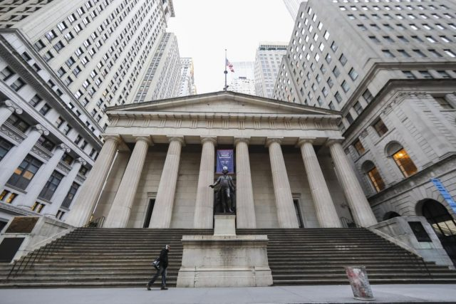 NEW YORK, Jan. 12, 2019 (Xinhua) -- Photo taken on Jan. 12, 2019 shows the Federal Hall National Memorial, a tourist attraction which is closed due to partial government shutdown, in New York, the United States, Jan. 12, 2019. As the clock struck midnight, the U.S. partial government shutdown over disputed congressional funds for President Donald Trump's border wall entered its 22nd day on Saturday, marking the longest government closure in U.S. history. (Xinhua/Wang Ying/IANS) by .