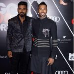 Mumbai: Cricketers Hardik Pandya and KL Rahul at the Red Carpet of GQ Best Dressed 2018, in Mumbai on May 26, 2018. (Photo: IANS) by .
