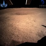 BEIJING, Jan. 3, 2019 (Xinhua) -- Photo provided by the China National Space Administration on Jan. 3, 2019 shows the first image of the moon's far side taken by China's Chang'e-4 probe. China's Chang'e-4 probe touched down on the far side of the moon Thursday, becoming the first spacecraft soft-landing on the moon's uncharted side never visible from Earth. The probe, comprising a lander and a rover, landed at the preselected landing area at 177.6 degrees east longitude and 45.5 degrees south latitude on the far side of the moon at 10:26 a.m. Beijing Time (0226 GMT), the China National Space Administration announced. (Xinhua/IANS) by .