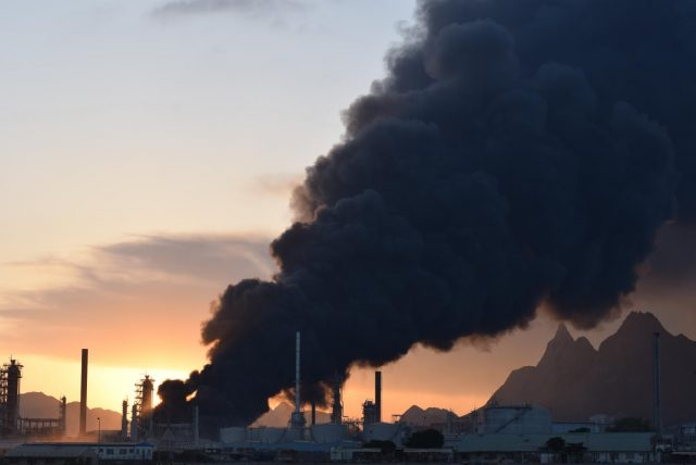 YEMEN-ADEN-OIL REFINERY-FRESH EXPLOSION by .