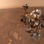 "The last selfie by NASA's Curiosity Mars rover at the ""Rock Hall"" drill site, located on Vera Rubin Ridge on the Red Planet. (Photo Credit: NASA/JPL-Caltech/MSSS) by ."