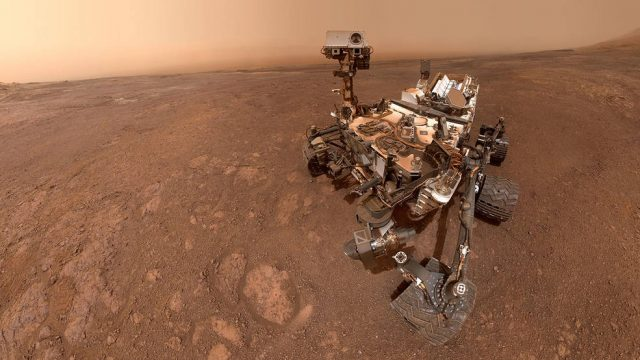 The last selfie by NASA's Curiosity Mars rover at the