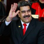 CARACAS, Jan. 10, 2019 (Xinhua) -- Venezuelan President Nicolas Maduro during the presidential inauguration ceremony in Caracas, Venezuela, on Jan. 10, 2019. Nicolas Maduro was sworn in before the Supreme Court of Justice to begin a new six-year term on Thursday. (Xinhua/Andrea Romero/IANS) by .