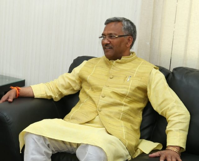 Uttarakhand Chief Minister Trivendra Singh Rawat. (File Photo: IANS) by .