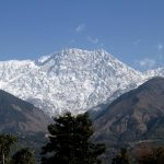 Dharamsala: A view of snow covered Dhauladhar range as seen from Dharamsala on Dec 14, 2018. (Photo: IANS) by .