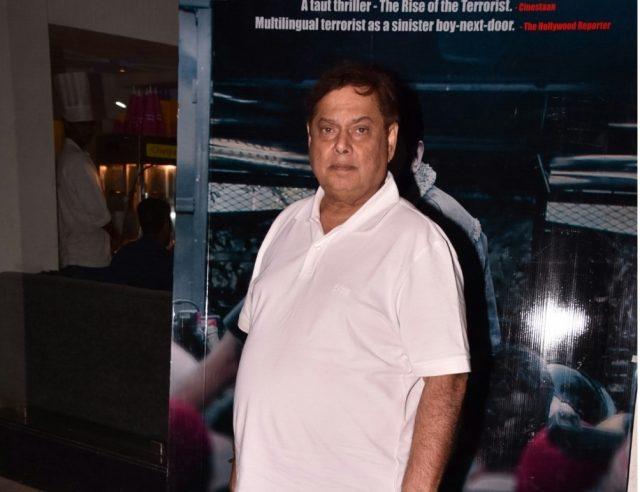 Mumbai: Director David Dhawan during the special screening of film