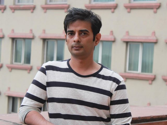 New Delhi: Producer Vijay Ratnakar Gutte during a programme organsied to promote upcoming film