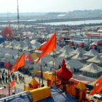 Prayagraj: A view of tents installed for pilgrims at Kumbh Mela premises in Prayagraj, on Jan 15, 2019. On the wee hours of Tuesday, thousands of faithful thronged the Kumbh Mela site and took the holy dip at Sangam -- the confluence of rivers Ganga, Yamuna and the mythical Saraswati -- to mark the onset of the Kumbh Mela on the auspicious day of Makar Sankranti. (Photo: IANS) by .