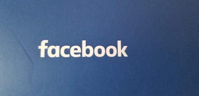 Facebook logo. by .