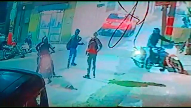 A gun seen in the hand of one of the three bikers in the CCTV footage that surfaced on Sunday. The murder of history-sheeter Jaydev alias JD has put the Gurugram police on high alert, apprehending a resurgence of gang war in the city neighbouring the national capital. JD died around 6 p.m. on Wednesday after receiving 8 to 10 bullet injuries. by .