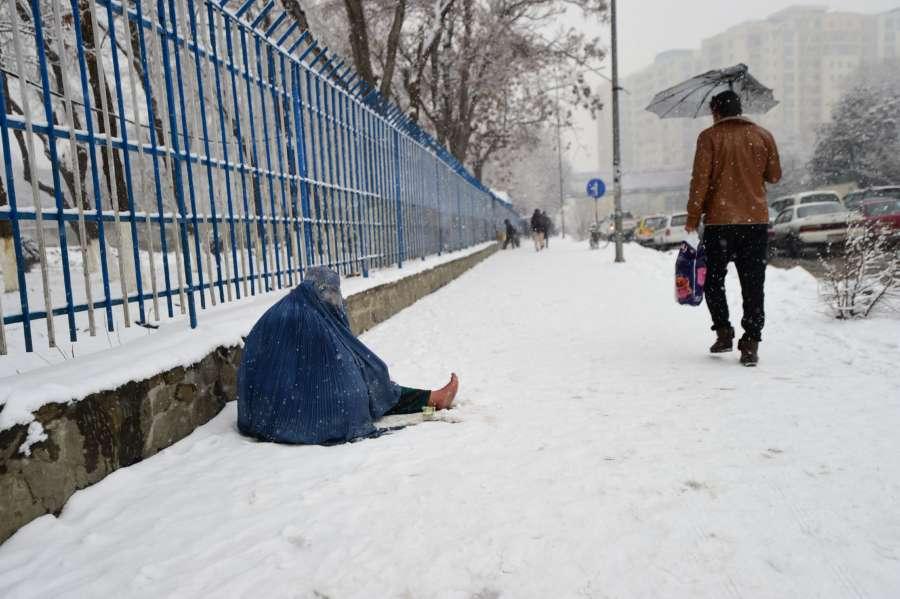 AFGHANISTAN-KABUL-DISPLACED PEOPLE by .
