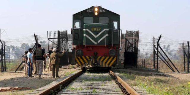 Samjhauta Express at Indo-Pak border. (File Photo: IANS) by .
