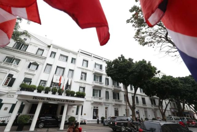 Hanoi: This photo, taken on Feb. 24, 2019, shows the Sofitel Legend Metropole Hotel, located in the Vietnamese capital of Hanoi. The hotel has been cited as one of the most likely venues for the second summit between U.S. President Donald Trump and North Korean leader Kim Jong-un set for Feb. 27-28.(Yonhap/IANS) by .