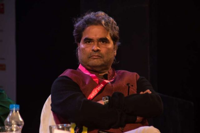Kolkata: Filmmaker Vishal Bhardwaj at Apeejay Kolkata Literary Festival in Kolkata, on Jan 13, 2018. (Photo: IANS) by .