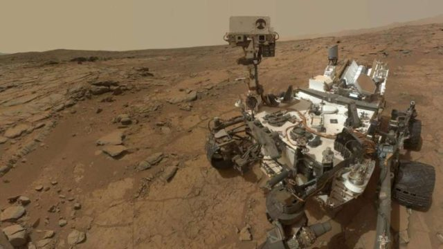 NASA's Curiosity Rover. (Photo: NASA) by .
