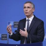 BRUSSELS, Dec. 4, 2018 (Xinhua) -- NATO Secretary General Jens Stoltenberg addresses a press conference during NATO foreign ministers' meeting in Brussels, Belgium, on Dec. 4, 2018. (Xinhua/Ye Pingfan/IANS) by .