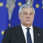 BRUSSELS, Dec. 13, 2018 (Xinhua) -- European Parliament President Antonio Tajani arrives at a two-day EU summit in Brussels, Belgium, Dec. 13, 2018. (Xinhua/Ye Pingfan/IANS) by .