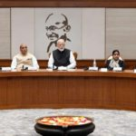 New Delhi: Prime Minister Narendra Modi chairing the meeting of the Cabinet Council of Security, at Lok Kalyan Marg in New Delhi on Feb. 15, 2019. (Photo:IANS/PIB) by .