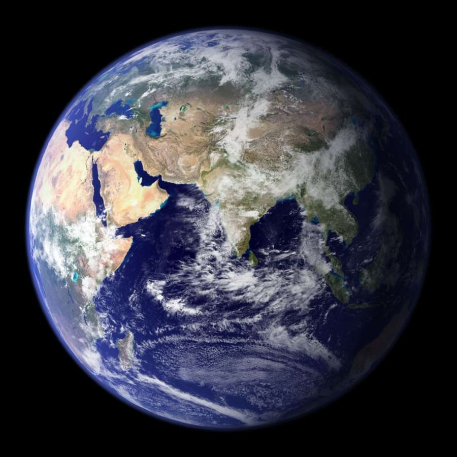 """This spectacular """"blue marble"""" image of Earth is the most detailed true-color image of the entire Earth till date. (Photo Courtesy: Reto Stockli/NASA Goddard Space Flight Center) by ."""