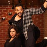 Filmmakers Rohit Shetty and Farah Khan. by .
