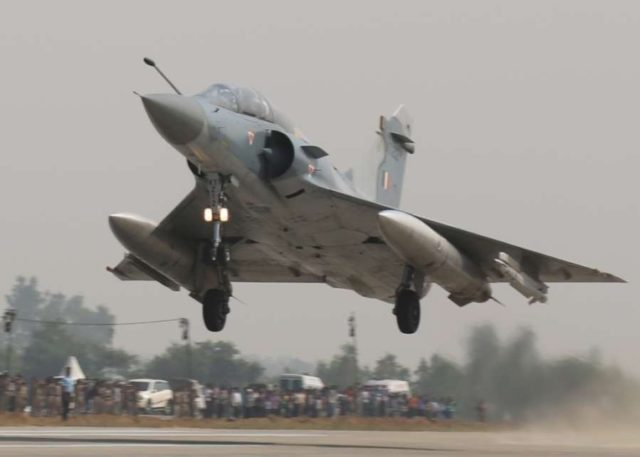 Mirage 2000 fighter aircraft. (File Photo: IANS/DPRO) by .