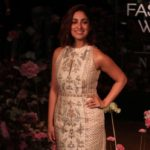 Mumbai: Actress Yami Gautam showcases fashion designer Anita Dogre's creation on Day 2 of the Lakme Fashion Week (LFW) Summer/Resort 2019 in Mumbai, on Jan 31, 2019. (Photo: IANS) by .