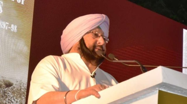 Punjab Chief Minister Captain Amarinder Singh. (File Photo: IANS) by .