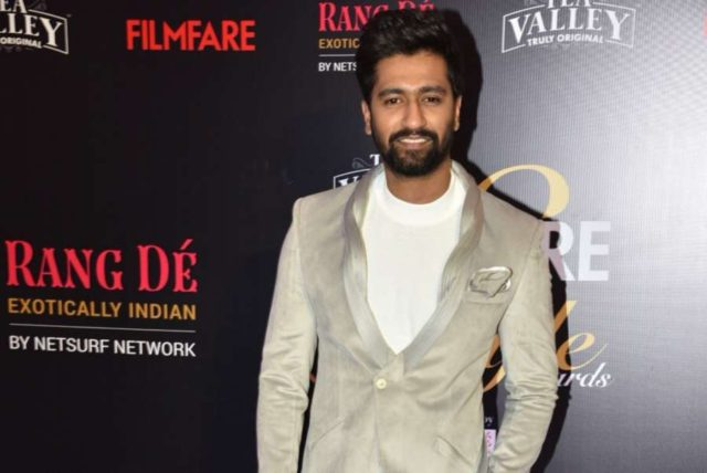Mumbai: Actor Vicky Kaushal on the red carpet of Filmfare Glamour And Style Awards 2019, in Mumbai on Feb 11, 2019. (Photo: IANS) by .