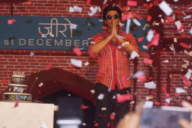 Mumbai: Actor Shah Rukh Khan at the launch of the trailer of his upcoming film