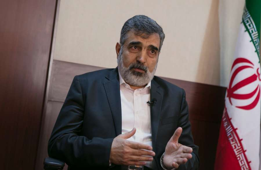 TEHRAN, Dec. 20, 2017 (Xinhua) -- Spokesman for the Atomic Energy Organization of Iran Behrouz Kamalvandi speaks during an exclusive interview with Xinhua in Tehran, Iran, on Dec. 20, 2017. Iran would keep its right to strike back if the United States is not going to suspend the sanctions against Iran, the spokesman for Atomic Energy Organization of Iran said in an exclusive interview with Xinhua on Wednesday. (Xinhua/Ahmad Halabisaz/IANS) by .