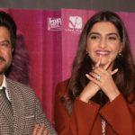 "Mumbai: Actors Anil Kapoor and Sonam Kapoor at the trailer launch of the film ""Ek Ladki ko Dekha toh aisa laga"" in Mumbai on Dec 24, 2018. (Photo: IANS) by ."