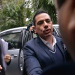 New Delhi: Robert Vadra, brother-in-law of Congress President Rahul Gandhi, arrives to appear before Enforcement Directorate in New Delhi on Feb 7, 2019. (Photo: IANS) by .