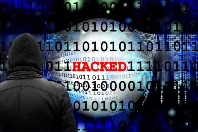 Cyber attack. by .