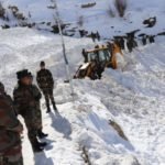 Kinnaur: Search operations underway to find five soldiers reported missing in the snow-bound Himalayan terrain of Himachal Pradesh's Kinnaur district where an avalanche hit them earlier this week. (Photo: IANS/DPRO) by .